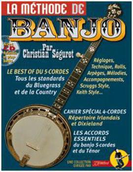 Picture of METHODE BANJO SEGURET +CD Gratuit