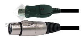 Image de Cable Informatique USB / XLR FEM EN 05M, ,