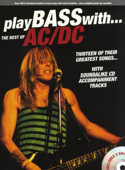 Picture of AC/DC BEST OF PLAY BASS WITH + 2CDgratuit,