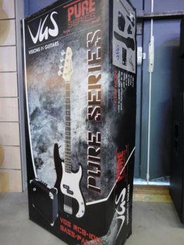 Image de Guitare Basse PACK VGS NOIR (housse +ampli +sangle +accordeur)