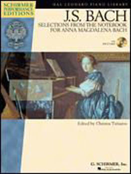 Image de BACH JS SELECTIONS FROM THE NOTEBOOK A.Magdalena +CD gratuit, ,