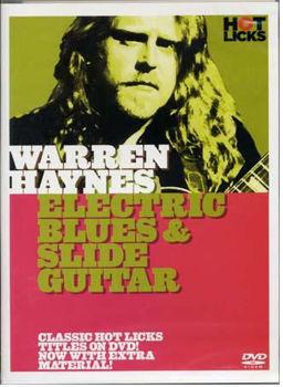 Picture of HAYNES WARREN DVD ELECTRIC BLUES AND SLIDE en francais