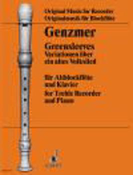 Image de GREENSLEEVES GENZMER H. VARIATIONS Flute à bec