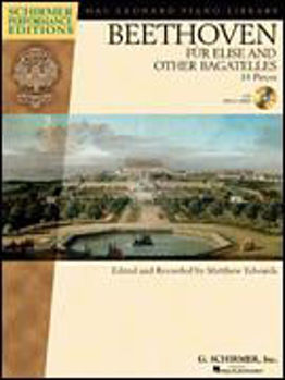 Picture of BEETHOVEN FUR ELISE AND OTHER BAGATELLES 14 PIECES + CD gratuit