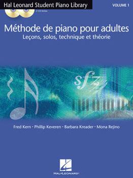 Picture of METHODE DE PIANO POUR ADULTES Avec CDgratuit,