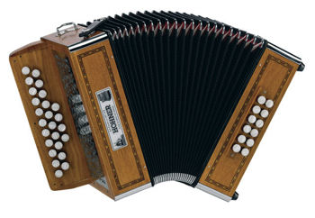 Picture of Accordeon Diatonique HOHNER GALAAD II 25 Touches G/C