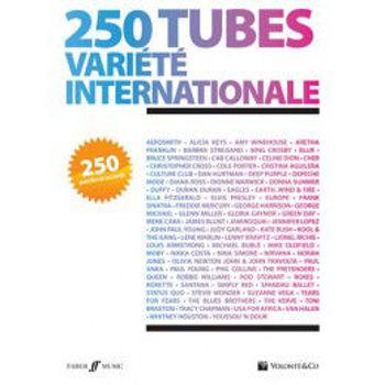 Picture of 250 TUBES VARIETE INTERNATIONALE Paroles et Accords