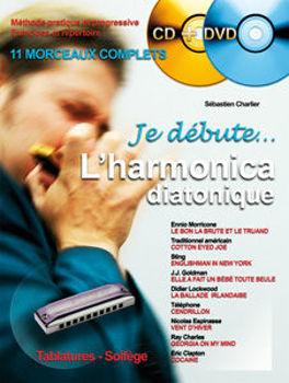 Image de JE DEBUTE L'HARMONICA CHARLIER +CDgratuit +DVDgratuit