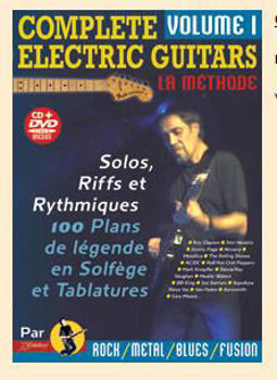 Picture of COMPLETE ELECTRIC GUITARS V1 +CD + DVD Gratuits
