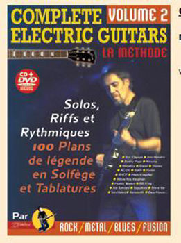 Picture of COMPLETE ELECTRIC GUITARS V2 +CD +DVD Gratuits