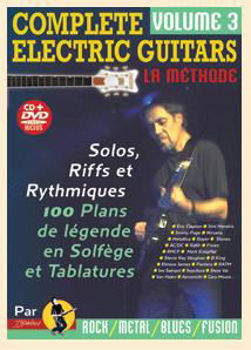 Picture of COMPLETE ELECTRIC GUITARS V3 +CD +DVD Gratuits