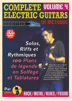 Picture of COMPLETE ELECTRIC GUITARS V4 +CD +DVD Gratuits