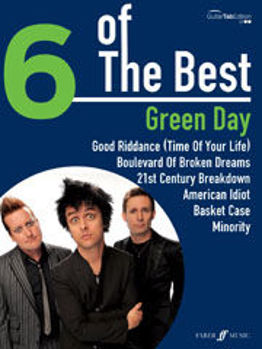 Picture of GREEN DAY 6 OF THE BEST GUIT TABL