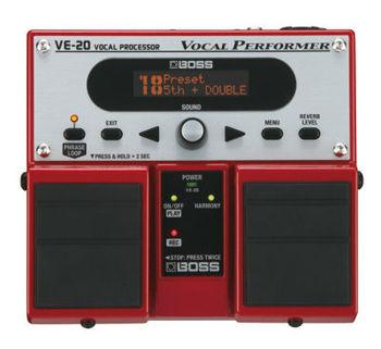 Image de Processeur Vocal BOSS VE-20 Effets Choeurs & Loopers