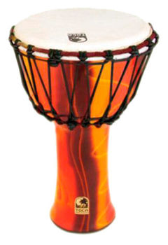 """Picture of DJEMBE 07"""" TOCA Synergie Freestyle Rope FIESTA SFDJ-7F"""