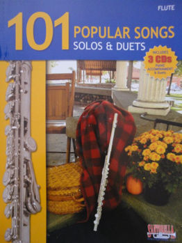 Picture of 101 POPULAR SONGS FLUTE TRAVERSIERE (Solos et duos) + 3CDgratuits