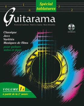 Picture of GUITARAMA 1A Guitare Tablature +CDgratuit