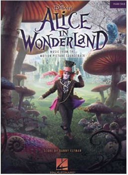 Picture of ALICE IN WONDERLAND ELFMAN DANNY Piano Solo