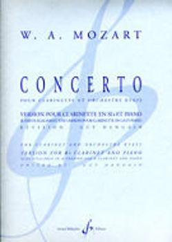 Image de MOZART CONCERTO KV622 VERSION SIB CLARINETTE