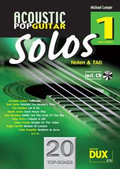 Image de ACOUSTIC POP GUITAR SOLOS Vol1