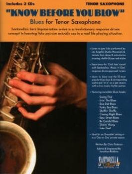Image de KNOW BEFORE YOU BLOW BLUES Saxophone Tenor +CDgratuit