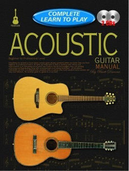 Picture of COMPLETE LEARN TO PLAY ACOUSTIC GUITAR +2CDgratuits