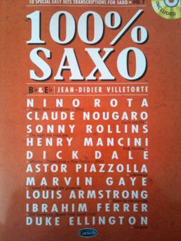 Picture of 100% SAXO VOL2 Saxophone Eb ou Bb +CDgratuit