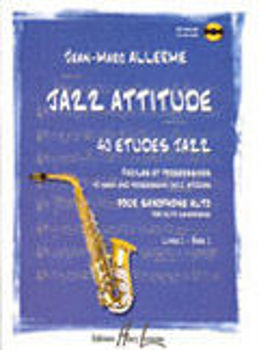 Picture of ALLERME JAZZ ATTITUDE VOL1 SAXO +CDgratuit