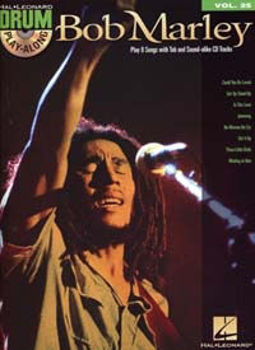 Picture of DRUM PLAY ALONG V25 BOB MARLEY +CDgratuit