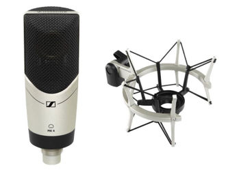 Picture of MICRO STUDIO CARDIOIDE MK4 PACK SENNHEISER (avec suspension et bonnette)
