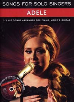 Picture of ADELE SONGS FOR SOLO SINGERS Piano Voix Guitare +CDgratuit
