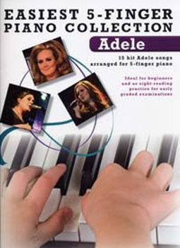 Picture of ADELE EASIEST 5 FINGER PIANO COLLECTION