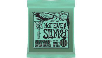 Picture of JEU Cordes Electriques ERNIE BALL SLINKY 012-056 NOT EVEN