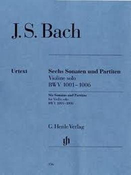 Picture of BACH JS Sonatas et Partitas BWV 1001-1006 Violon solo