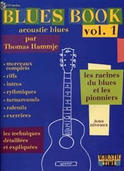 Image de BLUES BOOK ACOUSTIC VOL1 Les Racines du Blues Tablatures + CDgratuit