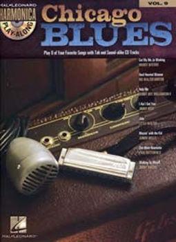 Image de PLAY ALONG HARMONICA VOL9 CHICAGO BLUES +CDgratuit