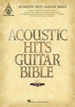 Image de ACOUSTIC HITS GUITAR BIBLE Tablatures