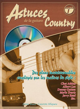 Image de ASTUCES DE LA GUITARE COUNTRY VOL1 +CD gratuit