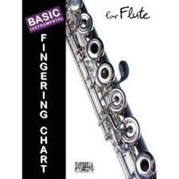 Picture of BASIC FINGERING CHART FOR FLUTE Flûte Traversière