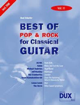 Image de BEST OF POP ROCK FOR CLASSIC V11 Guitare Classique