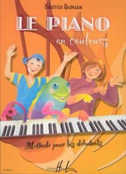 Image de QUONIAM PIANO EN COULEURS Méthode de Piano