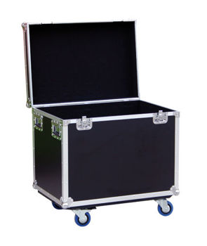 Picture of FLIGHT CASE Multi Usages  ROULETTES