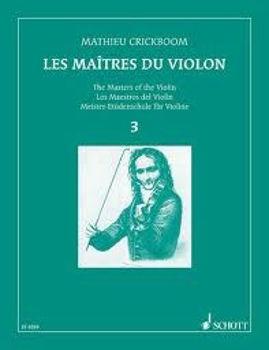 Picture of CRICKBOOM LES MAITRES DU VIOLON V3 Violon