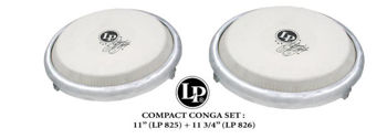 """Picture of Congas SET LP COMPACT 11"""" & 11"""" 3/4"""