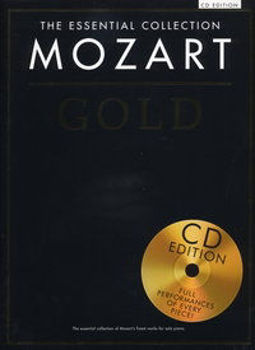 Picture of MOZART GOLD ESSENTIAL COLL Piano +CDgratuit