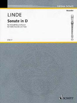 Picture of LINDE SONATE EN RE MIN Flûte à Bec et Piano
