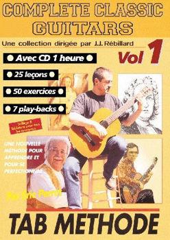 Picture of COMPLETE  CLASSIC GUITARE 1 +CDgratuit Guitare Classique Jj Rébillard