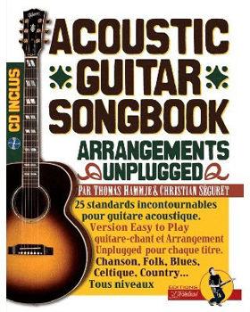 Image de ACOUSTIC GUITAR SONGBOOK +CD gratuit