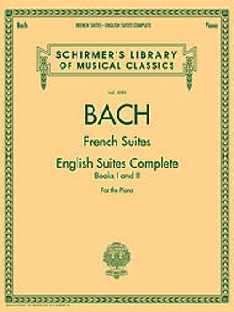 Image de BACH FRENCH SUITES AND ENGLISH SUITES Piano