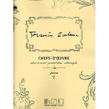 Picture of CHEFS D'OEUVRE POULENC Piano